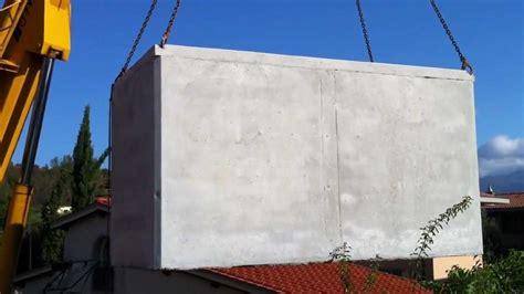 vasca raccolta acqua cisterna vasca in cemento prefabbricata per raccolta acqua