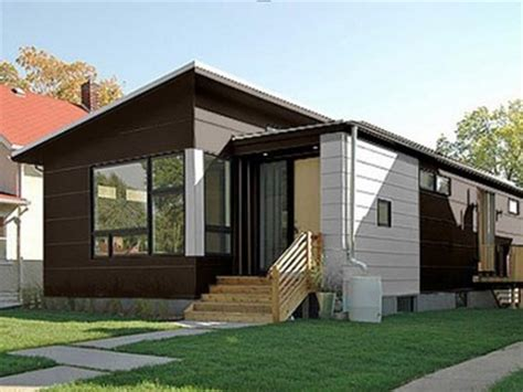 small modern prefab homes small modern energy efficient