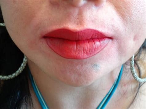 tattoo fuller lips full lips tattoo after picture yelp