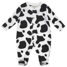 Sleepsuit Next Cow fizter kidswear cow print kid s tights baby stuff