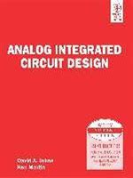 analog integrated circuit design books satish kashyap text books for cmos analog and mixed signal design jntu hyderabad