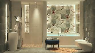 For a more feminine look this east asian inspired bathroom is the