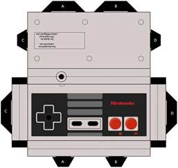Nintendo Papercraft Templates - console paper crafts