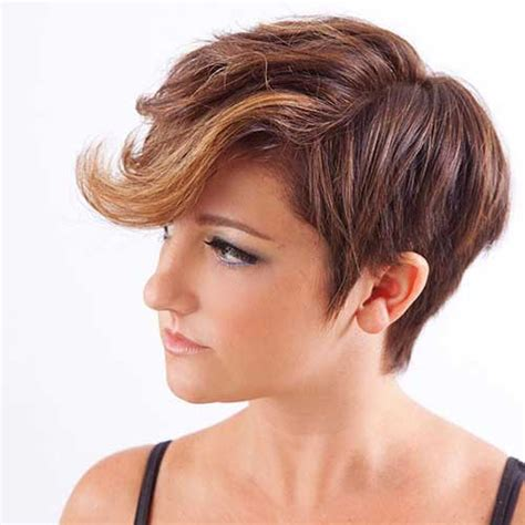 short hairstyles with brown hair and highlights 20 short hair color for women short hairstyles 2017