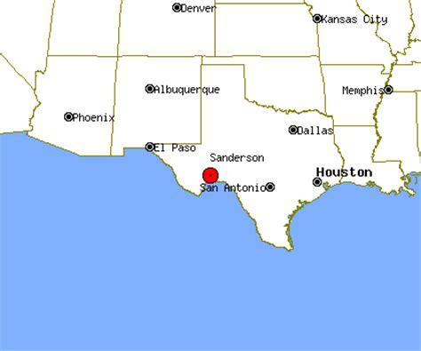 sanderson texas map sanderson profile sanderson tx population crime map