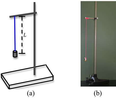 swinging pendulum experiment simple harmonic motion concepts