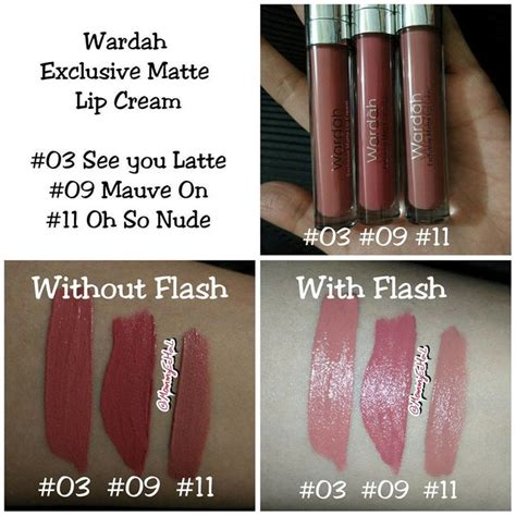 Wardah Lip See You Latte wardah exclusive matte lip wardah exclusive matte