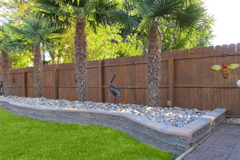 Retaining Wall Blocks Glamorous Backyard With Back Yard Backyard Retaining Wall Ideas
