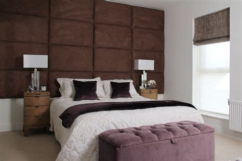 Large Padded Headboards by Large Padded Headboard Mediterranean Bedroom
