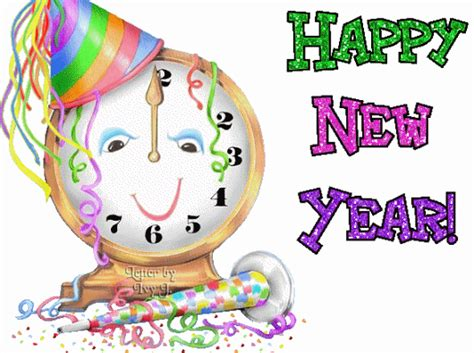 Happy New Years Clip by Animated Clipart Free Animated Clip Images