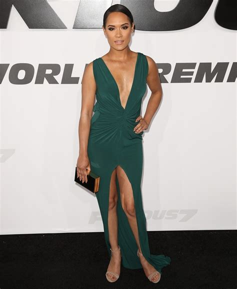grace gealey feet grace gealey picture 9 furious 7 world premiere arrivals