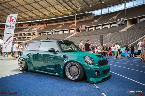 stanced smart car stanced mini cooper