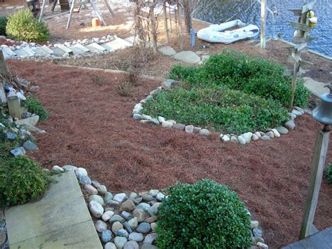 small yard renovation in colington harbour four seasons