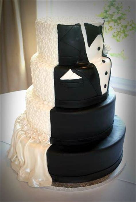 Wedding Groom Cake by Half Half Groom Cake Half Bride Half Groom Wedding