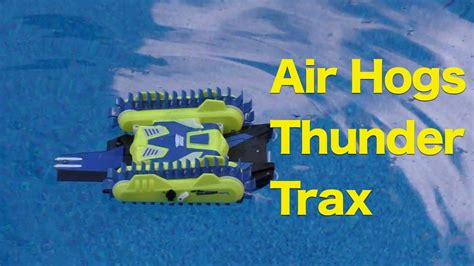 air hogs thunder trax review rc tank that transforms into - Toy Boat That Turns Into A Car