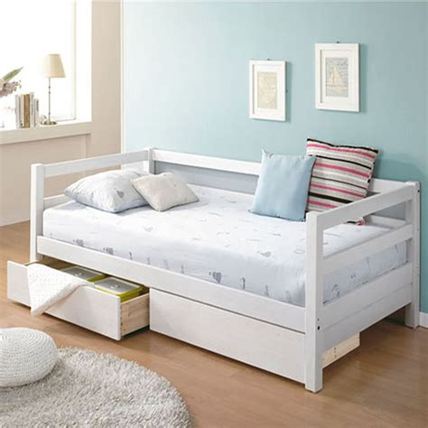 small day bed simple wood sofa bed small apartment sofa daybed child s