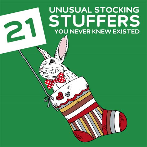 fun stocking stuffers 21 most unusual stocking stuffers you never knew existed