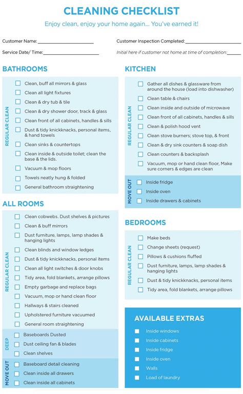 40 Helpful House Cleaning Checklists For You Kitty Baby Love Free Professional House Cleaning Checklist Template