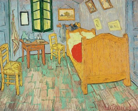 vincent gogh goghs bedroom at arles painting