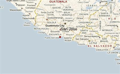san jose guatemala map san jos 233 guatemala location guide