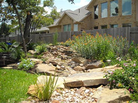 backyard landscape design american southwest garden