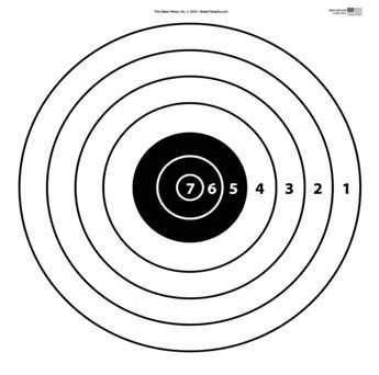 printable targets for 22 rifle 17 best images about targets printable on pinterest