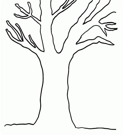 Tree Stem Coloring Page | tree trunk coloring page coloring pages for kids and for
