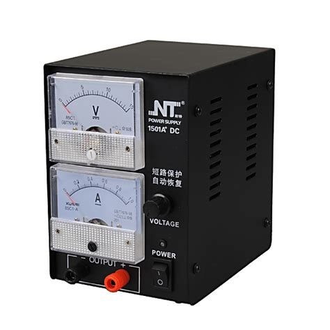 buy nt1501a 15v 1a adjustable regulated dc switching analog power supply bazaargadgets