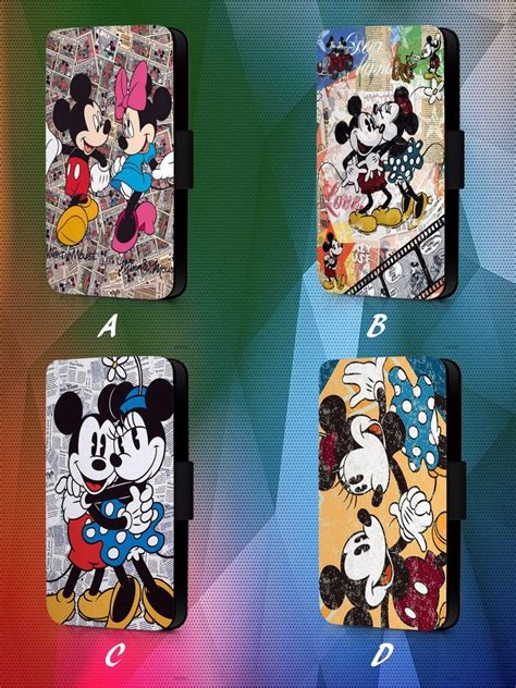 Flip Cover Gambar Kucing Donald Minie Mikey Samsung Ace 2 8160 mickey and minnie mouse disney faux leather flip phone cover l62 ebay