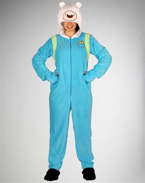 Finn Adventure Time Onesie 1000 images about footed pajamas on