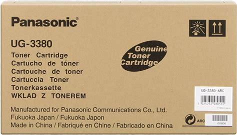 Toner Ug 3380 panasonic ug 3380 toner for less