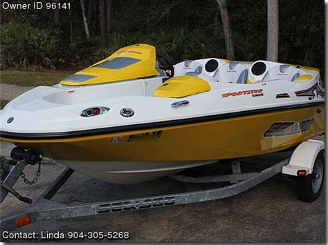 used sea doo boats for sale by owner 2004 sea doo sportster 4tec used boats for sale by owners