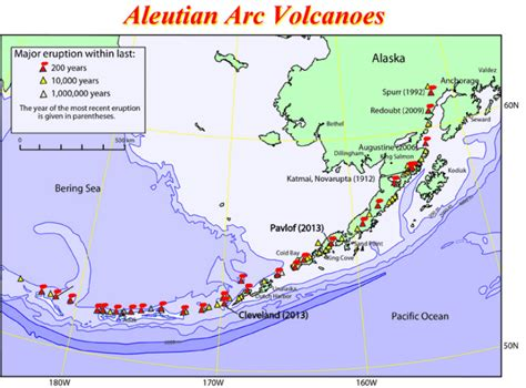map us volcanoes 52 volcanoes that pose a serious threat to the us aren t