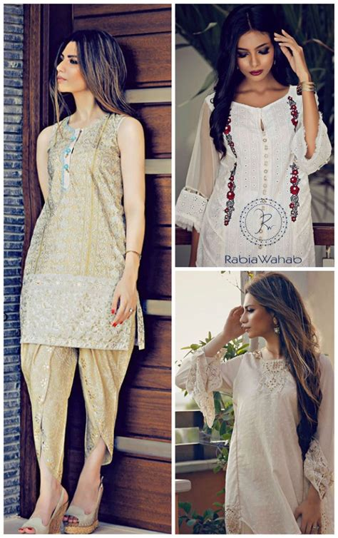 Set Rabia Dress ready set shoot rabia wahab eid collection 2016