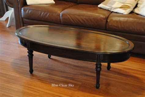 Rustic Maple: Oval Coffee Table Find