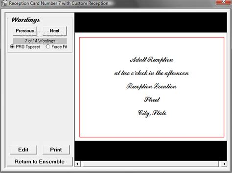 invitation design program free download wedding invitation design software the complete wedding
