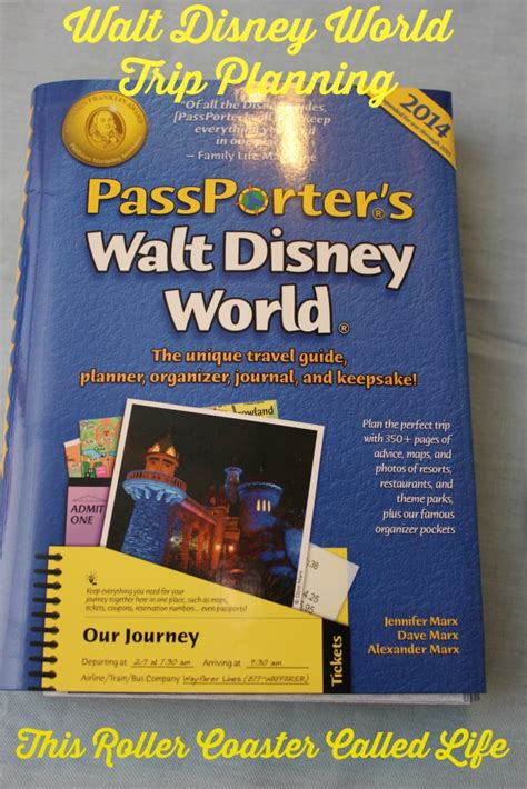 passporter s walt disney world 2008 the unique travel guide planner organizer journal and keepsake by marx 2007 11 28 books passporter s walt disney world 2014 this roller coaster
