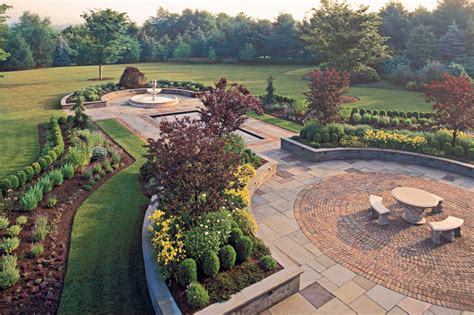 Patio Design Nj Formal Gardens Cording Landscape Design New Jersey