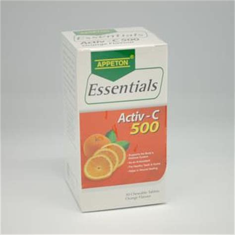 Appeton Essentials appeton essentials vitamin c 500mg 30 end 3 6 2019 4 18 pm