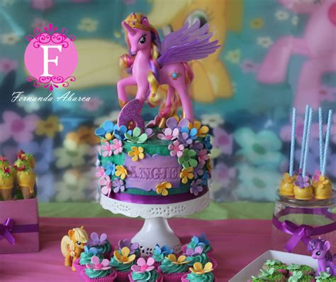 my little pony friendship is magic cake my little pony dessert table fernanda abarca cakes