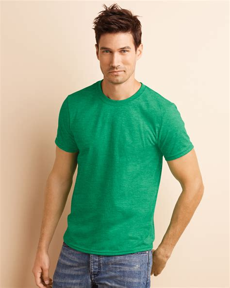 Kaos Polos Gildan Softstyle Original 30s gildan mens softstyle ringspun sleeve plain crewneck cotton t shirt 64000 ebay