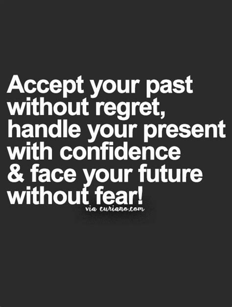 Without Regret accept your past without regret handle your present with
