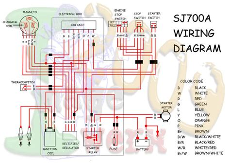 superjet sj700a wiring diagram 59606 circuit and