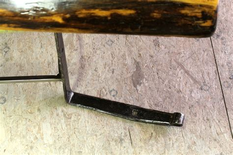 coffee table with steel hinge base ecustomfinishes