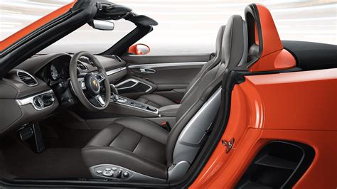porsche boxster 2017 interior updated 2017 porsche 718 boxster and cayman launched in india