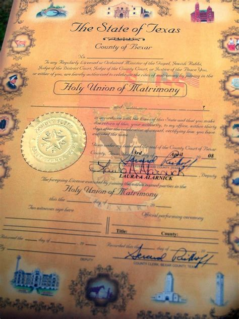 Bexar County Birth Records Here S What You Need To Obtain A Marriage License In Bexar