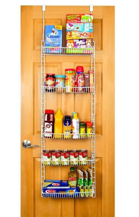 Over The Door Organizer For Kitchen by Amazon Com Pro Mart Dazz Over The Door Pantry Organizer