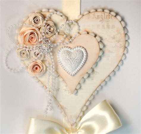 shabby chic heart inspirations pinterest
