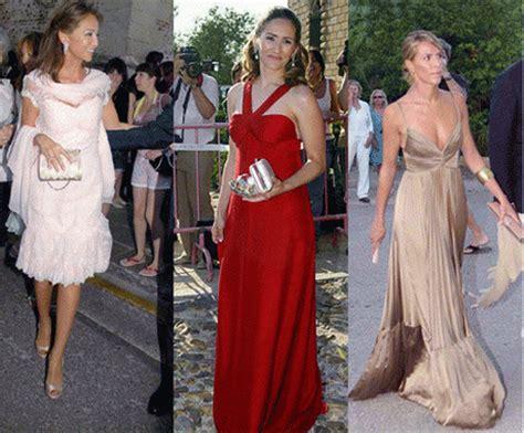fotos vestidos de boda invitadas vestidos boda noche invitadas