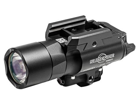 best surefire weapon light surefire x400 ultra weapon light led red laser 2 cr123a